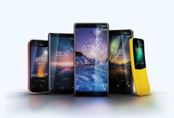 Nokia smartphones 2018